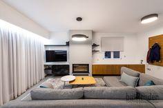 Living room sofa - TV corner - Fireplace - Buffet Living Room Sofa, Buffet, Corner, Construction, Tv, Projects, Home, Design, Building