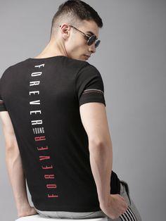 Men T-shirts - Buy T-shirt for Men Online in India New T Shirt Design, Shirt Print Design, Tee Shirt Designs, T Shirt Printing Design, Sport Shirt Design, Polo T Shirts, Sports Shirts, Cool Shirts, Men Design