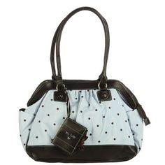 Baby Essentials Blue Polka Dot Satchel Diaper Bag Ping The Best