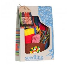 Create Your Own Indian Headdress - by Seedling