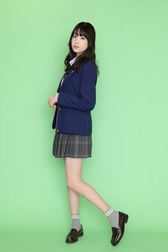 PICK UP ACTRESS 髙橋ひかる | HUSTLE PRESS OFFICIAL WEB SITE School Uniform Fashion, Japanese School Uniform, School Girl Outfit, Girl Outfits, Sweet Dress, Image Collection, Japanese Girl, Short Dresses, Actresses