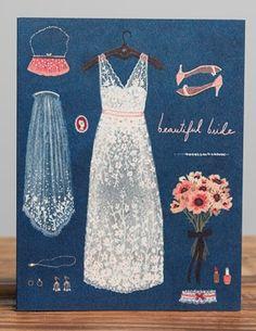 Beautiful Bride | Red Cap Cards