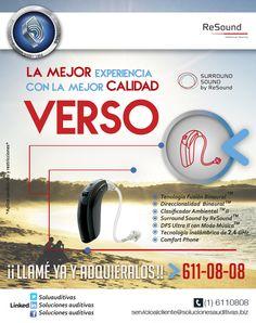 Audífonos VERSO,la mejor experiencia con la mejor calidad Verses, Get Well Soon, Tecnologia, Musica