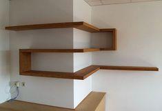 wood corner shelf ideas 7