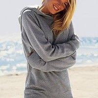 Fleece Oversized Hoodie - Victoria's Secret