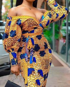 Short African Dresses, African Inspired Fashion, Latest African Fashion Dresses, African Print Dresses, African Print Fashion, Africa Fashion, Short Gowns, Ankara Fashion, African Prints