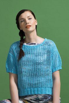 Naisen neuletoppi Novita Kaisla | Novita knits
