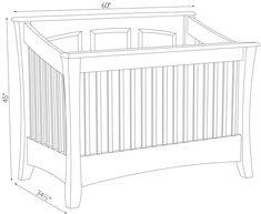 Crib Plans Cradle Pinterest