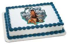 Ice Age Iceberg Brigade Personalized Edible Cake Image Topper @ niftywarehouse.com #NiftyWarehouse #IceAge #IceAgeMovie #Animated #Movies #Film