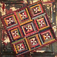 Plain Folk featuring Kim Diehl fabrics from the Simple Whatnots Club 3
