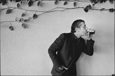 Darryl Pitt, a portrait of Leonard Cohen