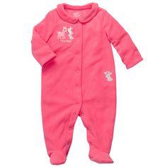 Microfleece Sleep & Play | Baby Girl Pajamas
