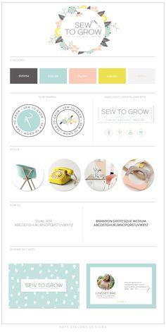 Kate Stevens Designs: Branding - Sew to Grow