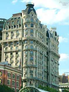 The Ansonia, 2109 Broadway / Probably my favorite building on the UWS. I recently previewed an apartment here for my boss....wow, amazing.