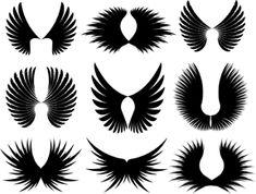 Drawings 0f Angel Wings