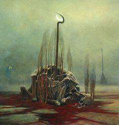 Zdzislaw Beksinski Gallery: The 1982's surreal masterpieces