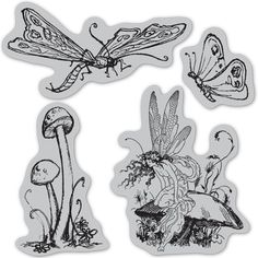 Oooh......I love this set.  Hampton Art Cling Stamps