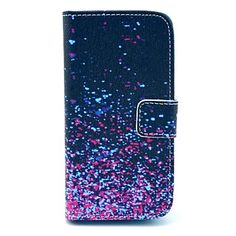 Diamond Fragment Patroon PU Leather Case met Card Slot en staan voor Samsung Galaxy S4 mini I9190 – EUR € 9.59