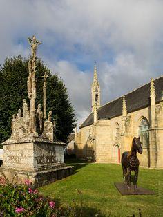 balade photo en Finistère, Bretagne et...: la chapelle et le calvaire de Quilinen à Landrévarzec (11 photos)