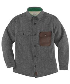 Woolrich X Danner Old Growth Shirt Jacket by WOOLRICH® The Original Outdoor…