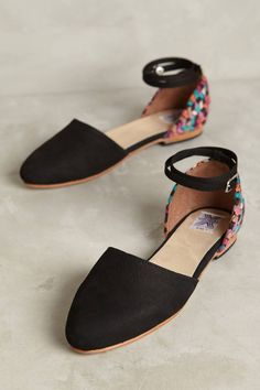 28df44737c7 Shop the Uxibal Chi Embroidered Flats and more Anthropologie at  Anthropologie today. Read customer reviews