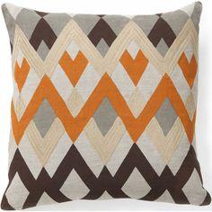 "Global Bazaar Diamond Echo Pillow $69.00   18""sq   item# 88527"