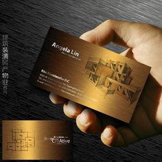 business cards architect chalkboard architect blueprint business