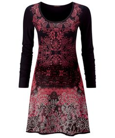 LD338 - Lovely Lace Print Dress  - Lovely Lace Print Dress, Women's Dresses and Tunics, Womens Clothing, Clothing, Accessories, Joe Browns