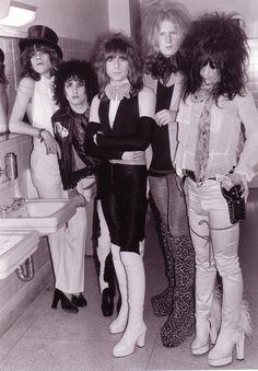 New York Dolls...first concert, my brother Steve took me.