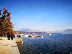 Promenade at the Lake Lucerne European Languages, Water Powers, Old Port, Austro Hungarian, Lucerne, Restaurant, Trieste, City Break, Bad Timing