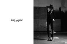 saint laurent. so simple.