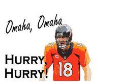 Omaha....Omaha...Hurry...Hurry!