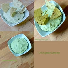 THERMOMIX Dip de aguacate y queso azul