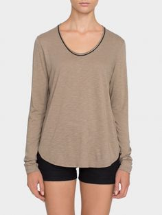 Shop our selection of cashmere, cotton and linen tees, including crewnecks and tanks. Turtleneck T Shirt, Cashmere Turtleneck, White And Warren, Tees For Women, Contrast, Crew Neck, Turtle Neck, Tunic, Sweatshirts