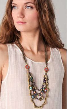 Vanessa Mooney Poppystack Necklace