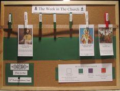 Great for a classroom or school hallway! - Liturgical Calendar
