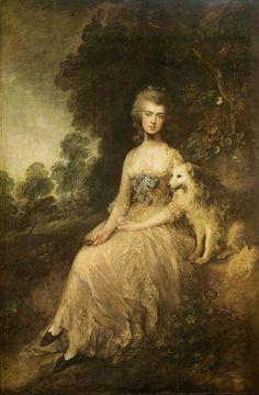 Thomas Gainsborough - Mrs. Mary Robinson, 1781