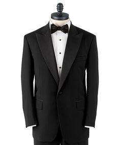 Brooks Brothers One-Button Peak Lapel Tuxedo - What I wore at my wedding