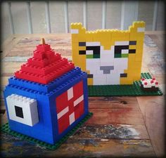 Lego Stampy and Squid