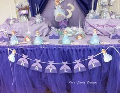 """Sofia the First / Birthday """"Kaylie the first"""" 