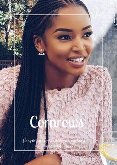 For black braids women hair hairstyles