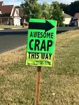 ideas for yard sale funny people Garage Sale Signs, Yard Sale Signs, For Sale Sign, Garage Sale Organization, Sale Signage, Signs For Mom, Rummage Sale, Funny Signs, Along The Way