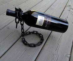 I hate buying things when I can make them myself. A family member wanted a wine bottle holder like this, and I saw an opportunity to make something co...