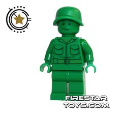 LEGO Toy Story Minifigure - Green Army Soldier