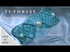 "Tutorial macramè bracciale ""Maya""/ Tutorial macramè bracelet ""Maya""/ Diy tutorial - YouTube"
