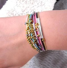 DIY Summer  : DIY Simple Summer Bracelet