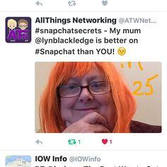 Having #fun on #snapchat #snapchatting #socialmedia #atwnetworking #kissagingerday