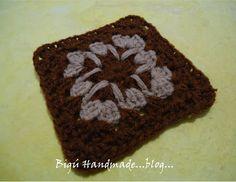 Bigú Handmade: Granny para manta...Granny for blanket...