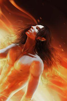 Майрон  Burn bright by CK0T on DeviantArt