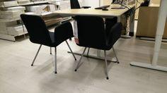 Schlichte (sehr bequeme) Besprechungs-Sessel